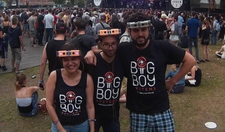 L'équipe Big Boy Systems à ses débuts