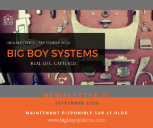 Newsletter #1 – Septembre 2020