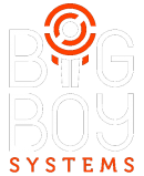 Logo de Big Boy Systems Blanc et orange