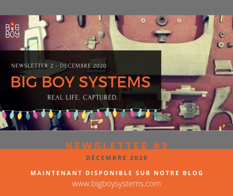Newsletter #2 – Décembre 2020